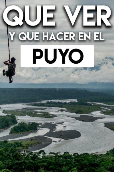 Qué ver y hacer en El Puyo, Ecuador