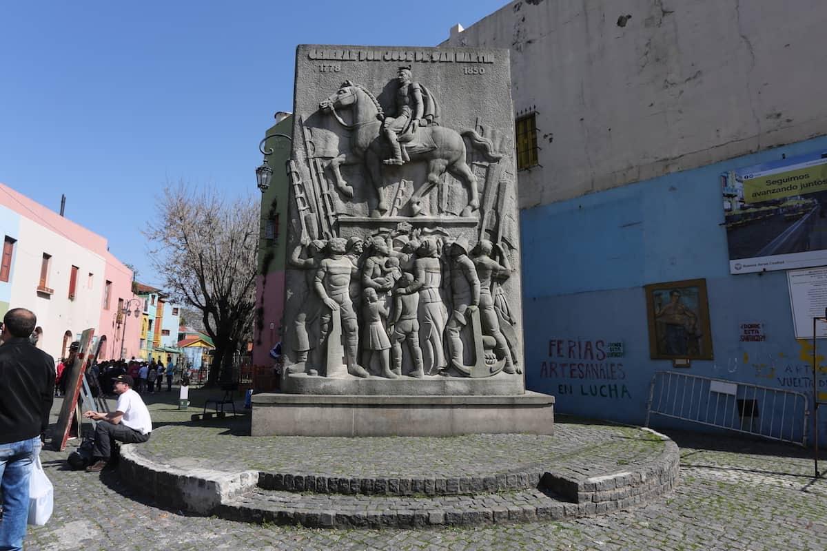 Barrio de La Boca Buenos Aires