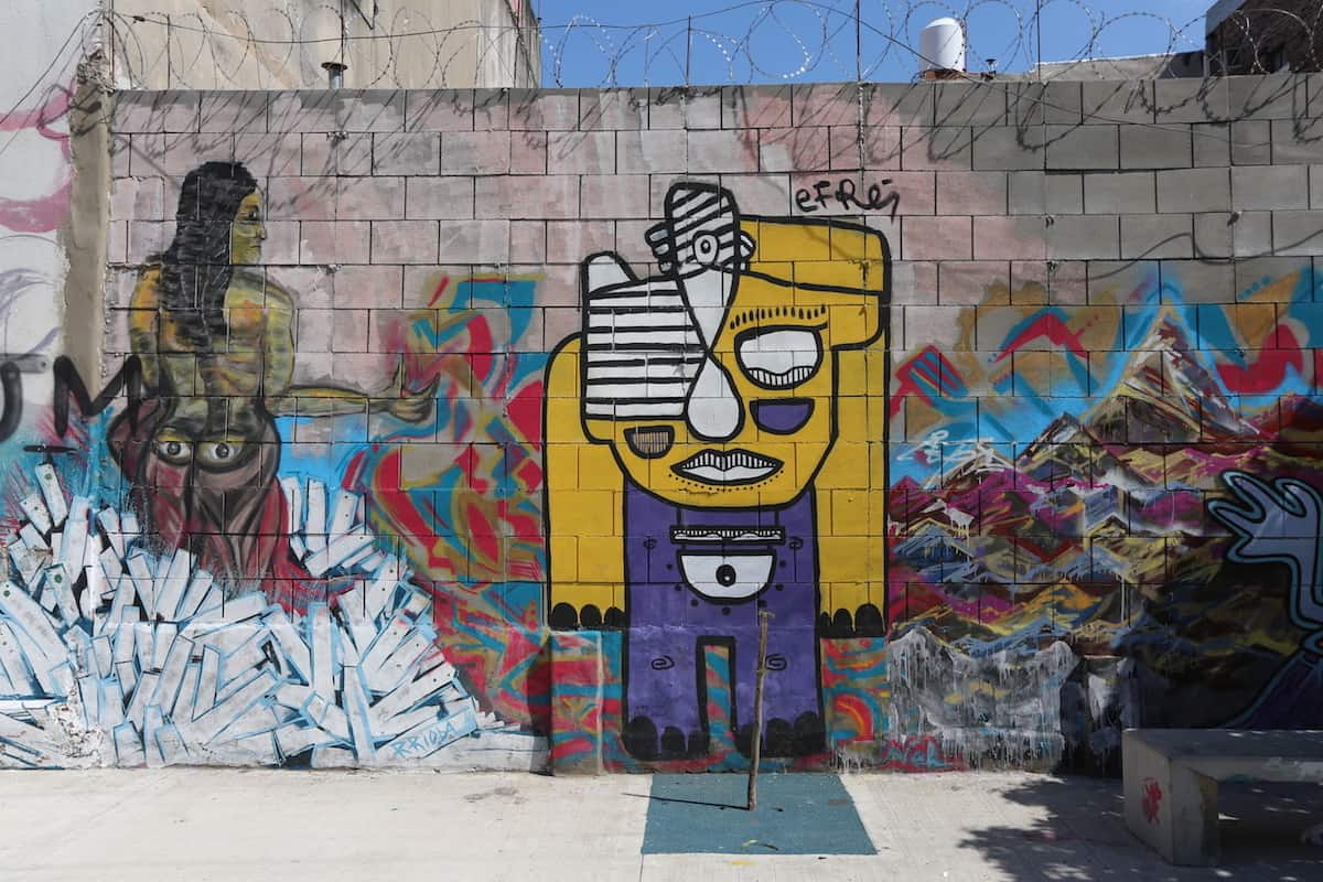 Barrio de La Boca Buenos Aires Murales