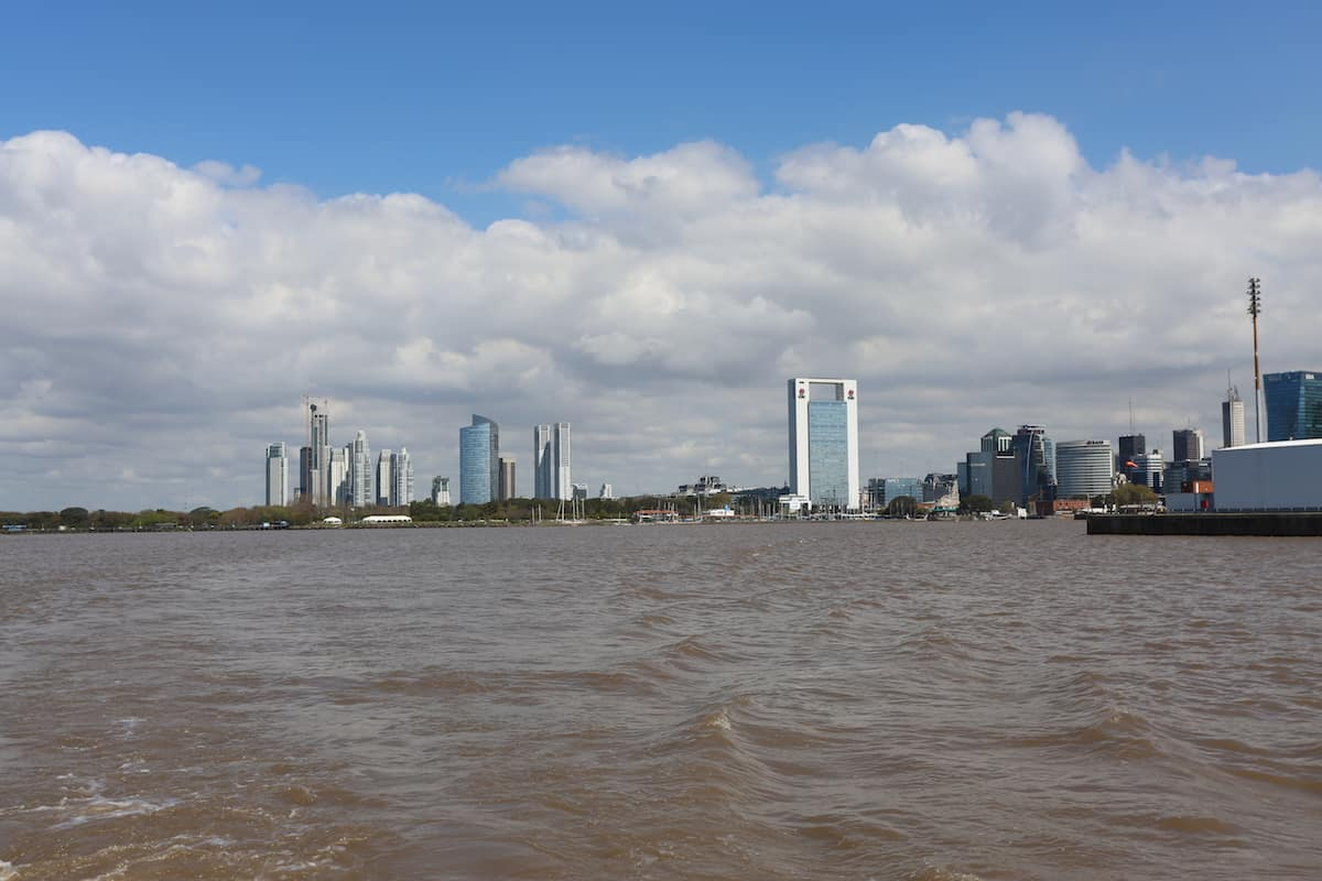 paseo en barco buenos aires