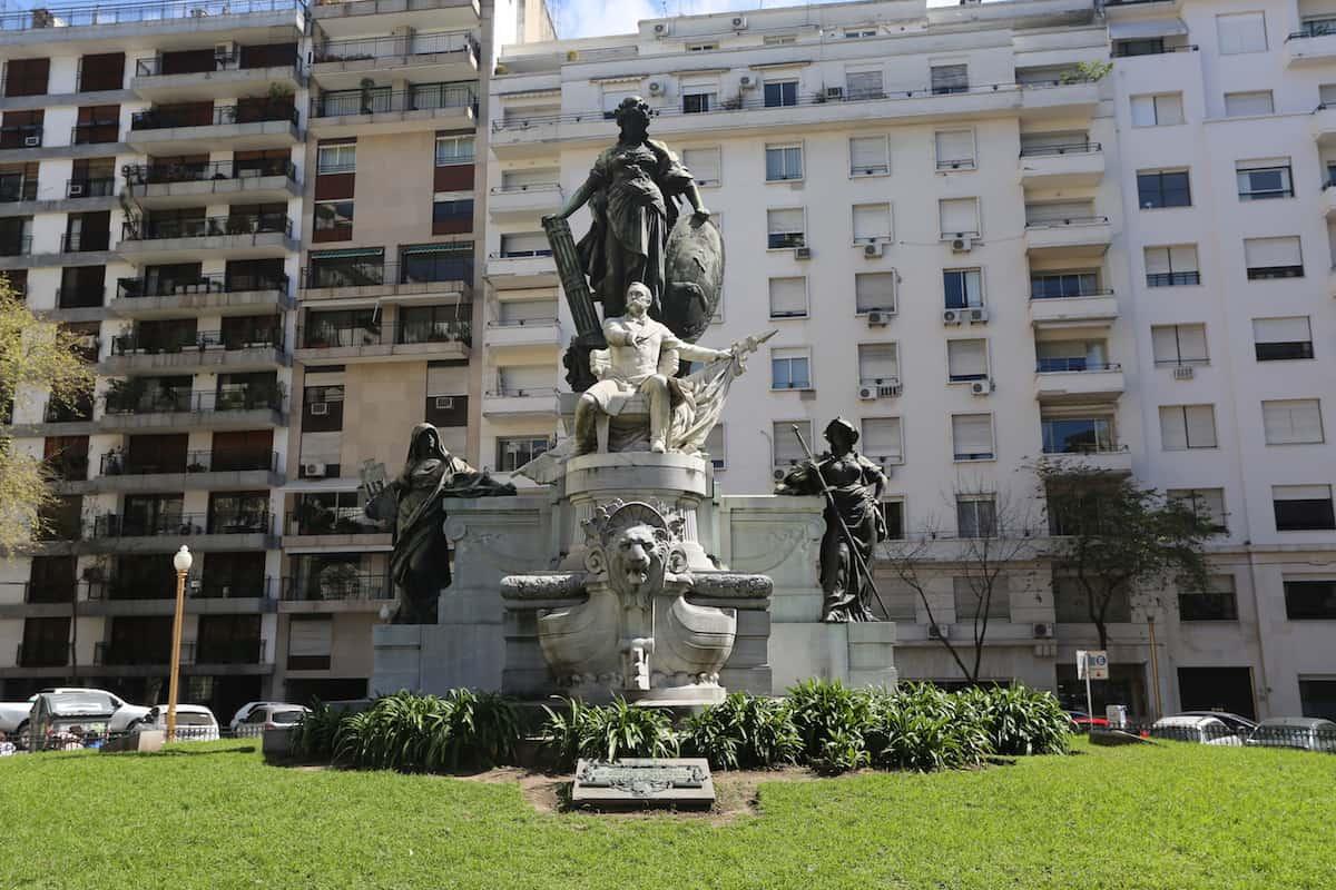 La Recoleta Monument Buenos Aires