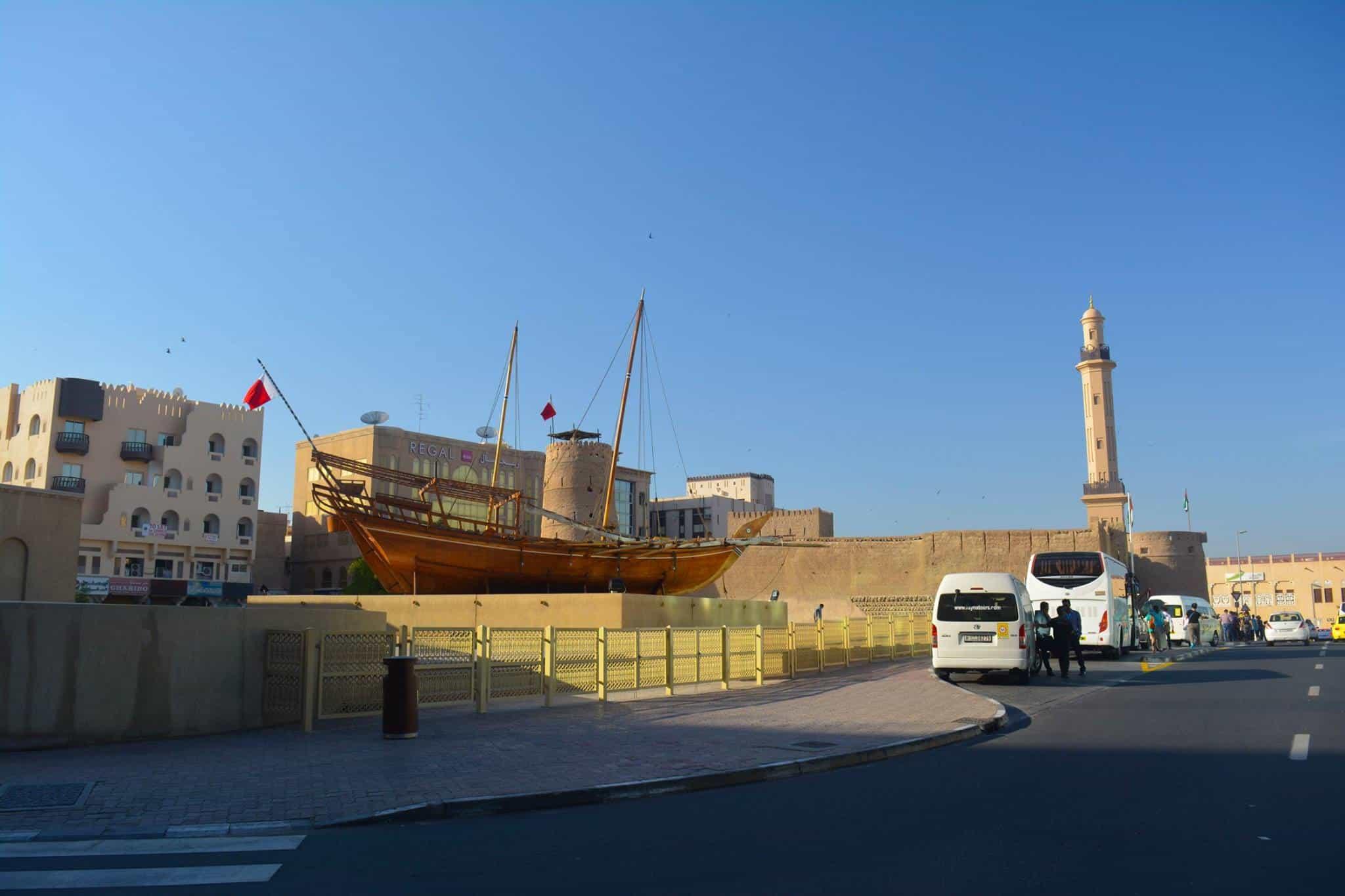 Museo de Dubai 'Al Fahidi Fort' en Al Fahidi Barrio histórico