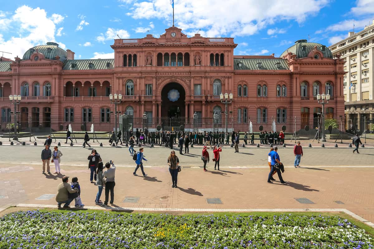 The Presidential Casa Rosada - The Pink House