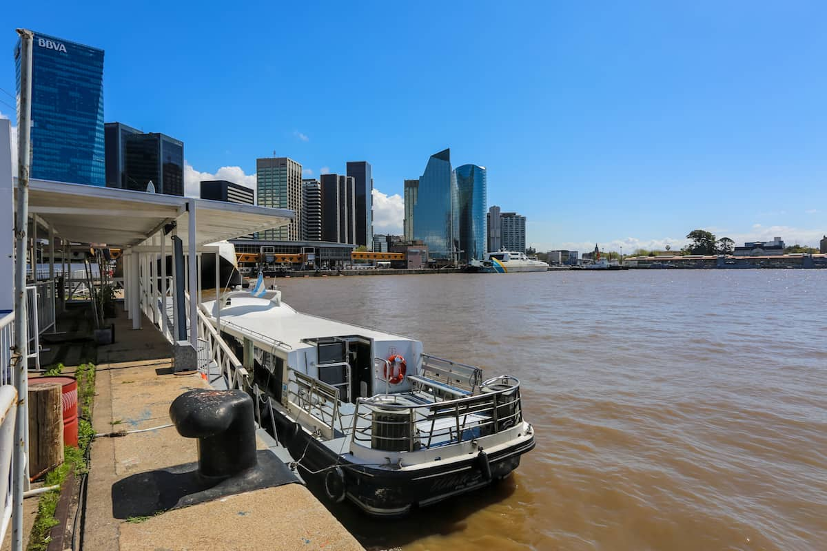 Puerto Madero for the Postcard Boat Tour