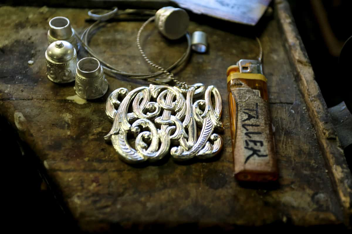 Silversmith's shop in Buenos Aires