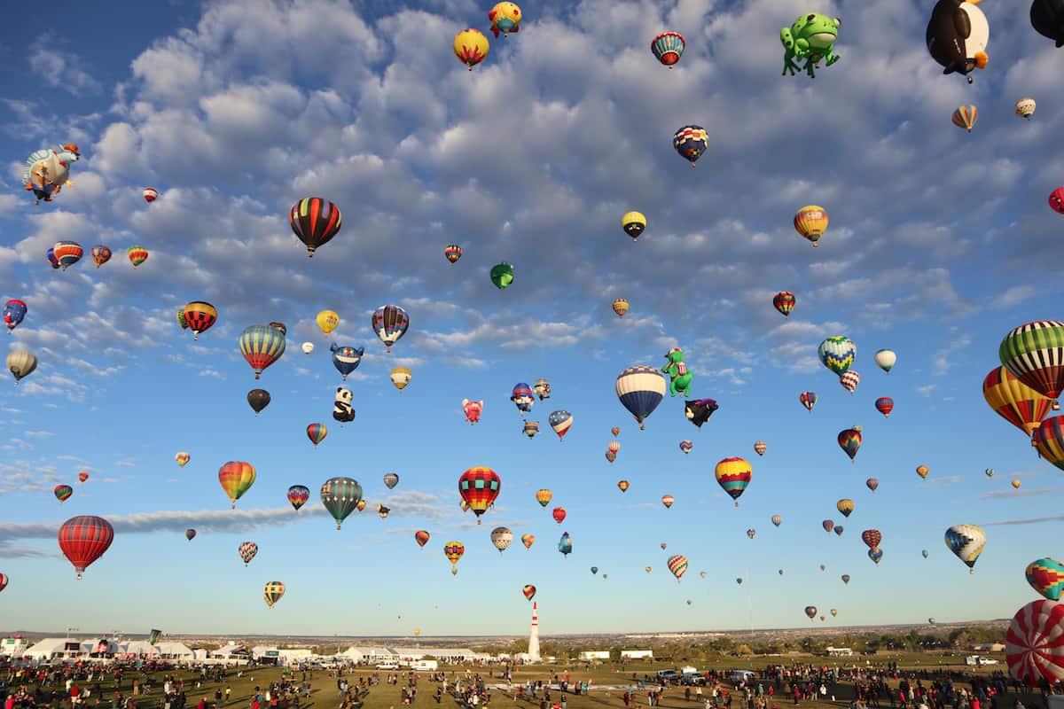 fotos de globos aerostaticos