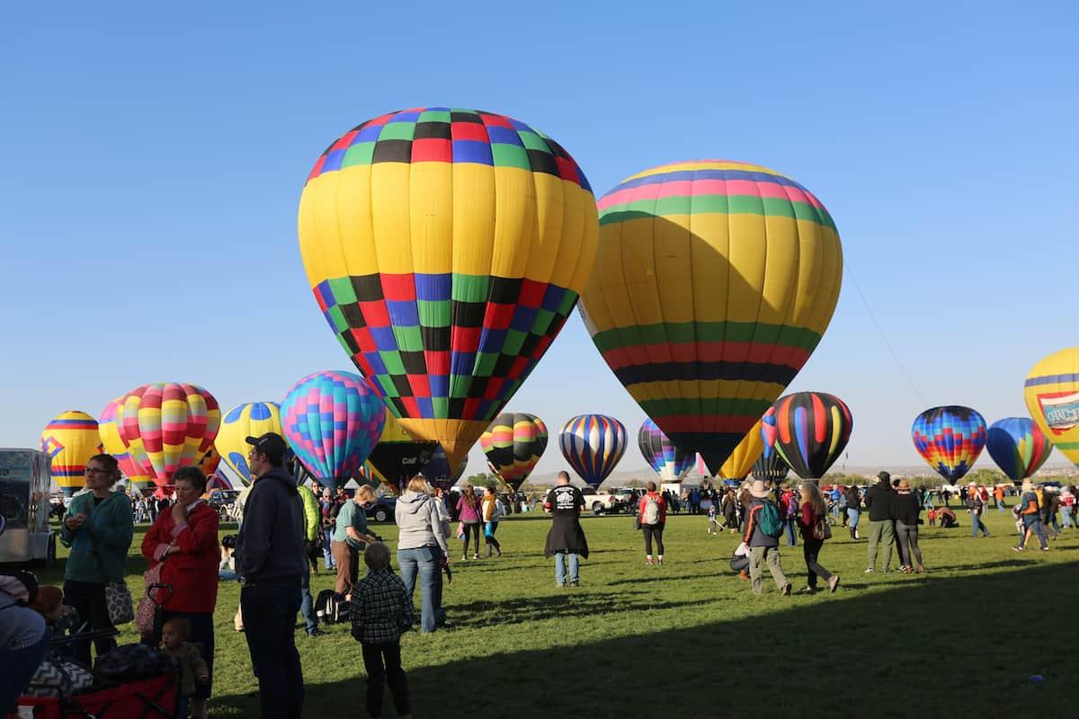 festival de globos aerostaticos en alburqueque