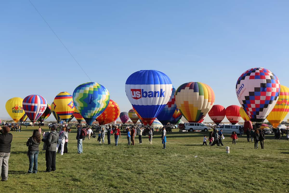 festival de globos aerostaticos albuquerque US BANK