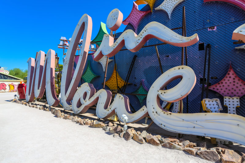 In love sign NEON MUSEUM