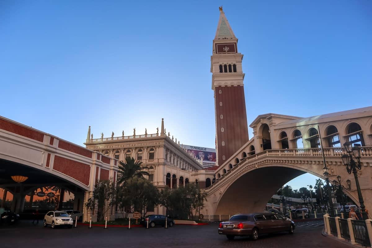 El Venezian en las Vegas