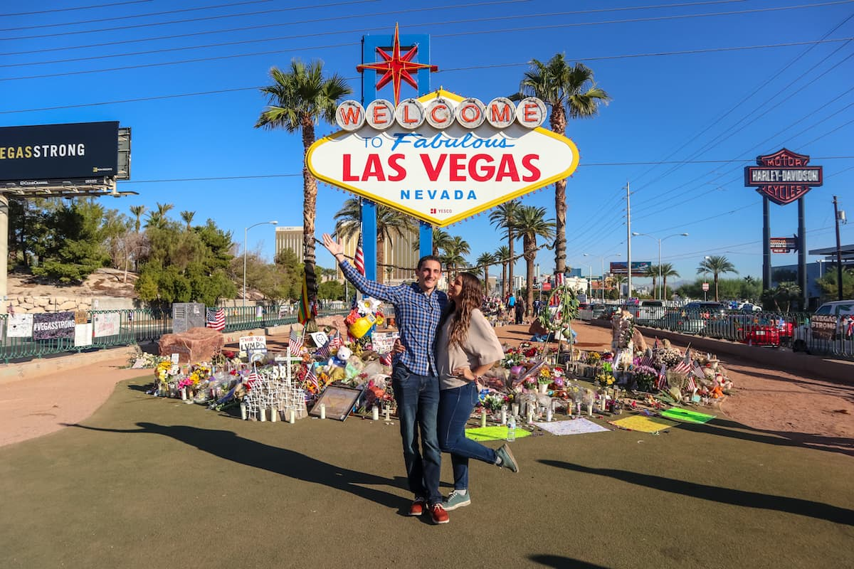 "El famoso letrero de "" Welcome to Fabulous Las Vegas"""