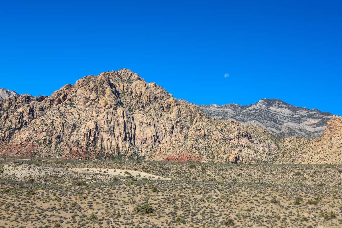 Paisaje de Área Nacional de Conservación Red Rock Canyon