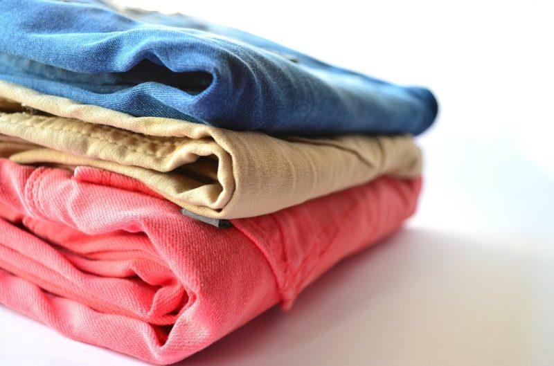 Empaca otra muda de ropa