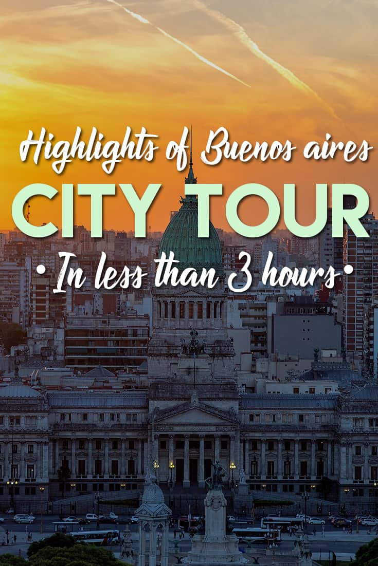 What to do in Buenos Aires in 3 hours