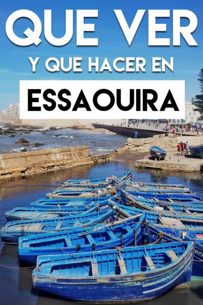 Que ver y que hacer en Essaouira