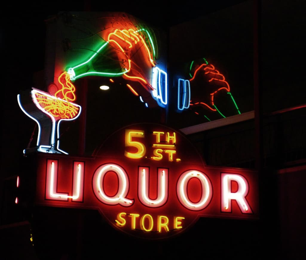 The 5th Street Liquor Store