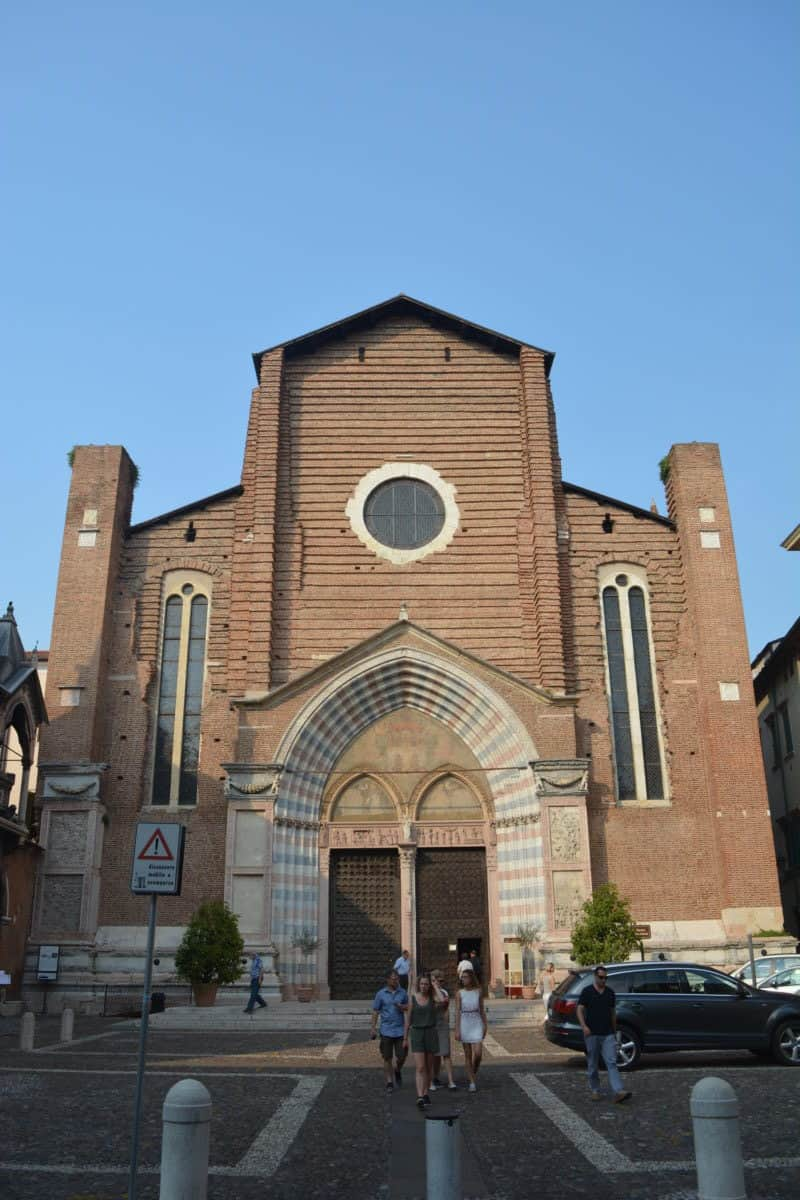 The Basilica of Saint Anastasia