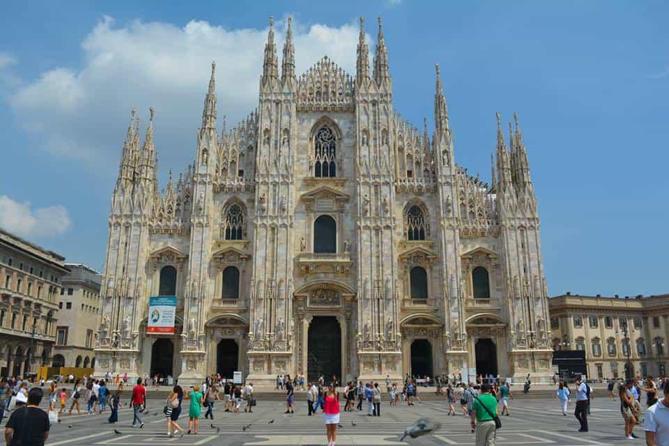 Iglesia Gótica Duomo di Milano - Que ver en Milán