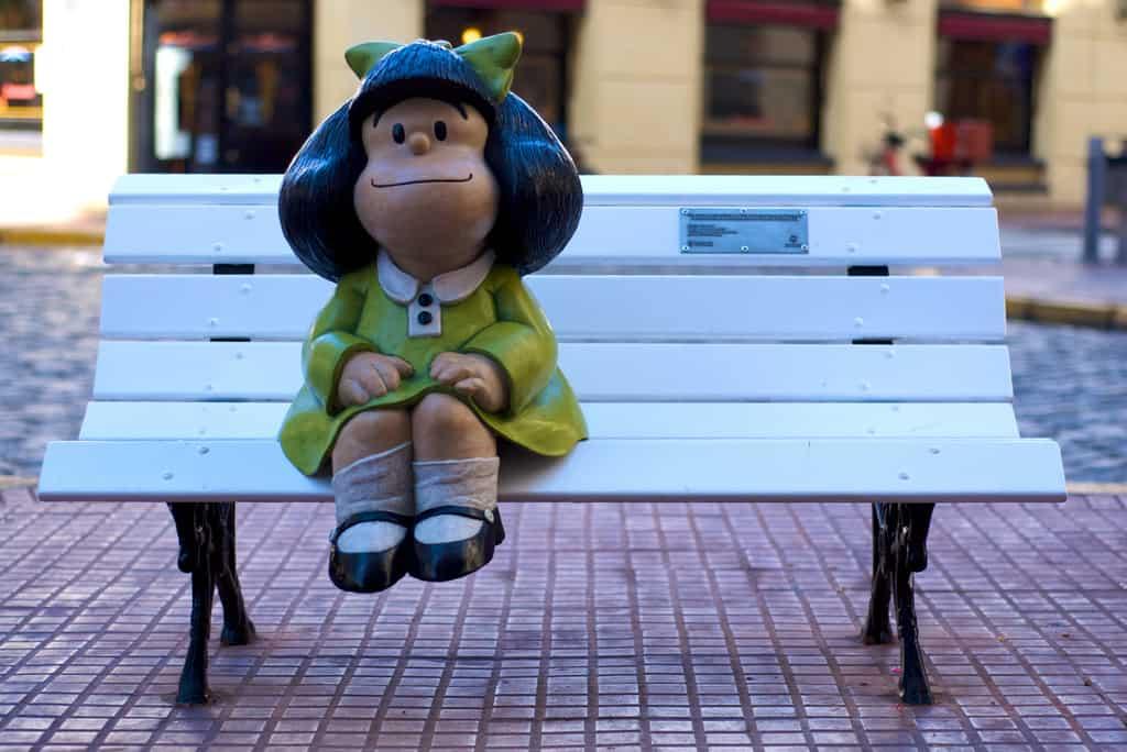El Monumento a Mafalda en San Telmo