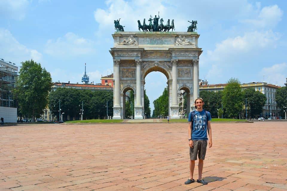 Porta Sempione - Que ver en Milán