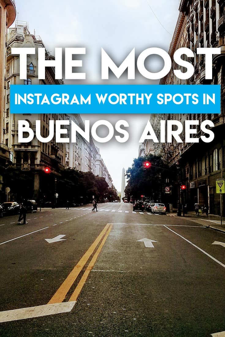 The most instagrammable spots in Buenos Aires