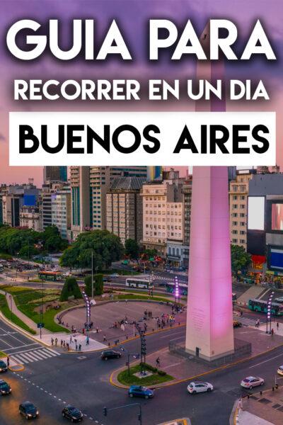 Guía para recorrer Buenos Aires en un día
