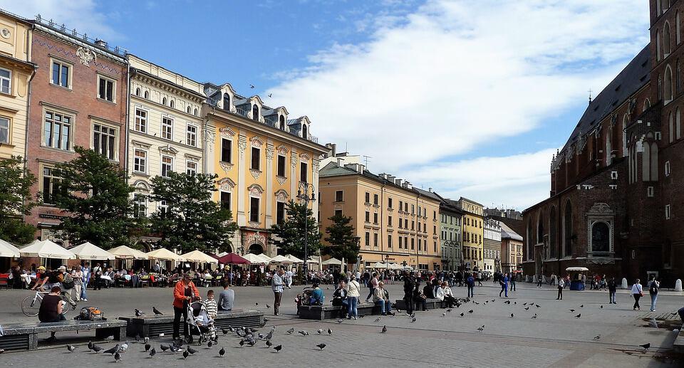 Ciudad antigua de Cracovia