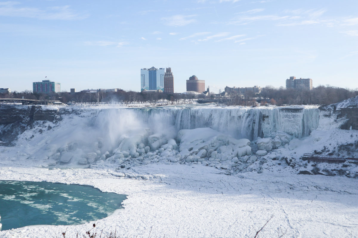 Niagara Falls from Canada