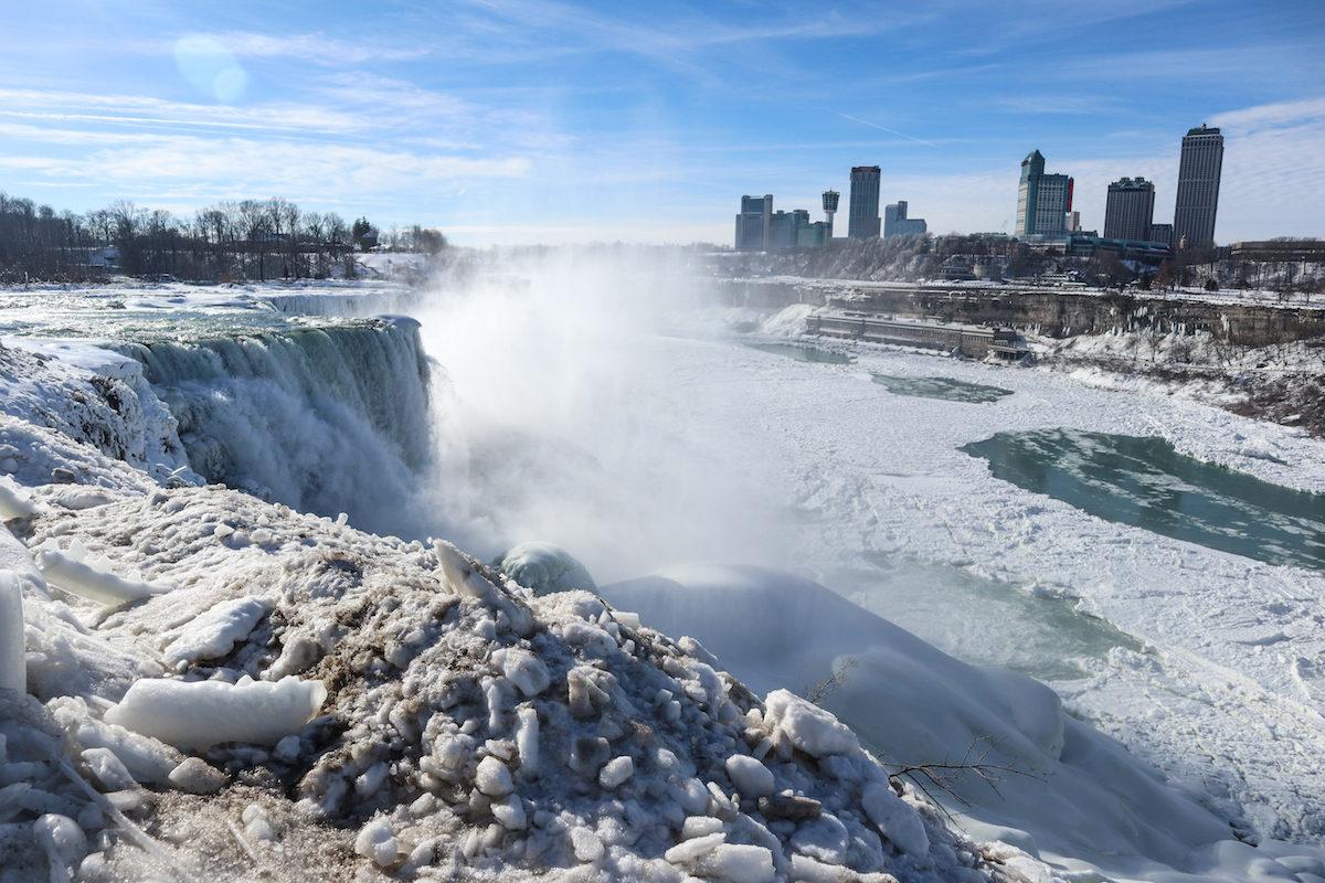 Qué hacer en Niagara falls en invierno