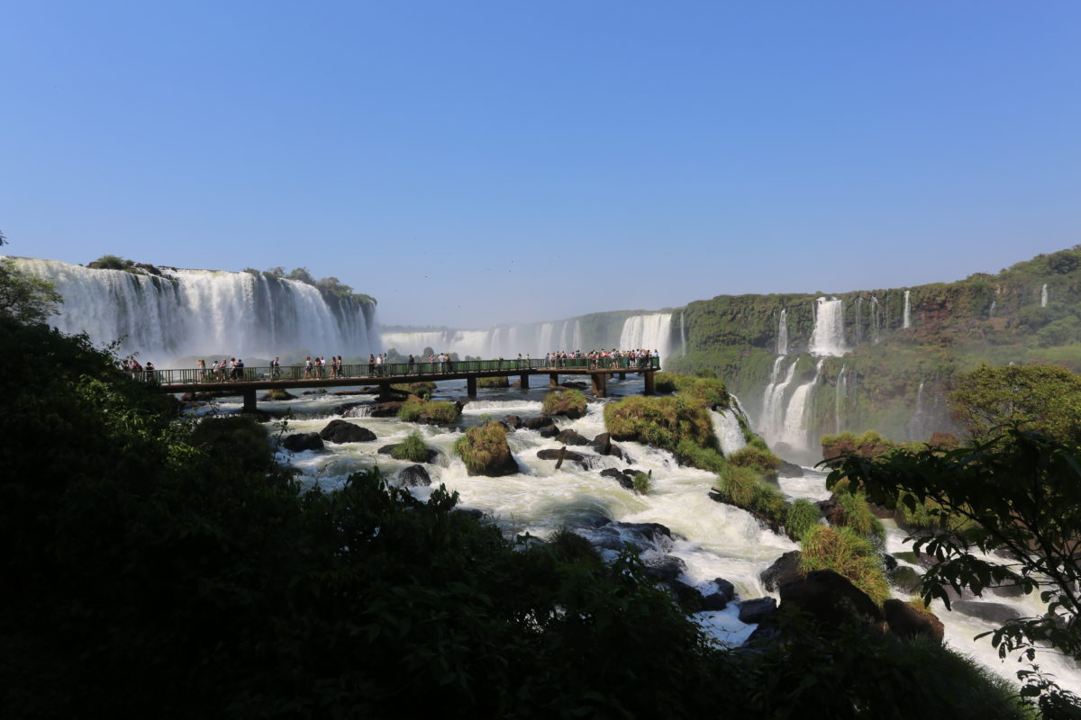 Getting ready to visit Iguazu Falls