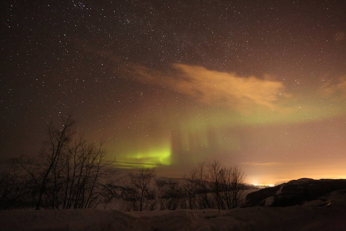 auroras boreales en noruega