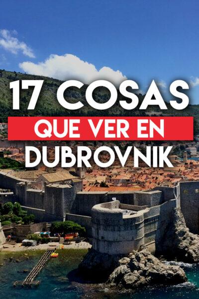 17 cosas que ver en Dubrovnik que no te puedes perder