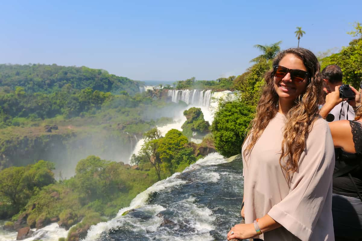80% of the Iguazu Falls lies within Argentina