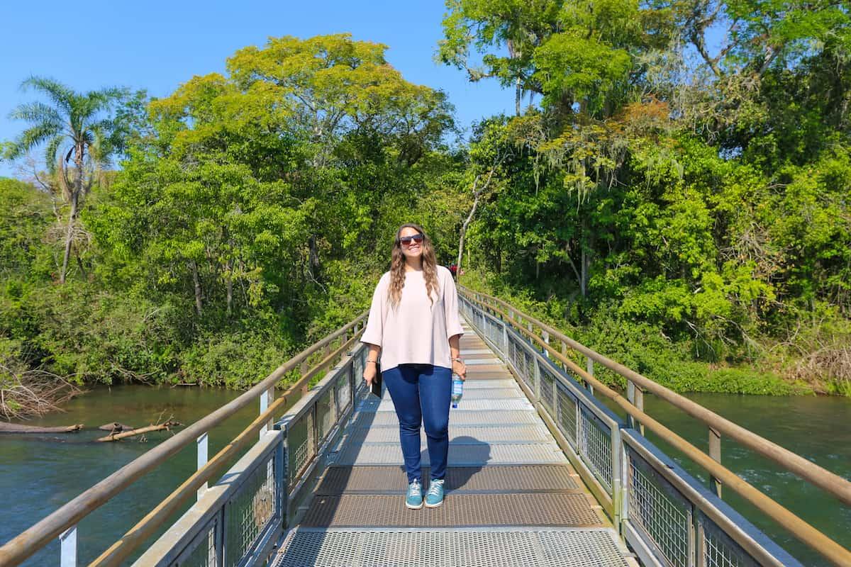 Walking Routes at Iguazu Falls