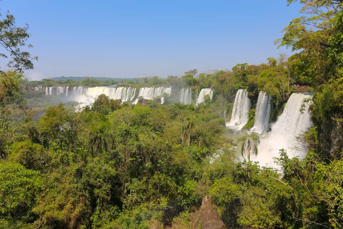 Argentinian side of Iguazu Falls: