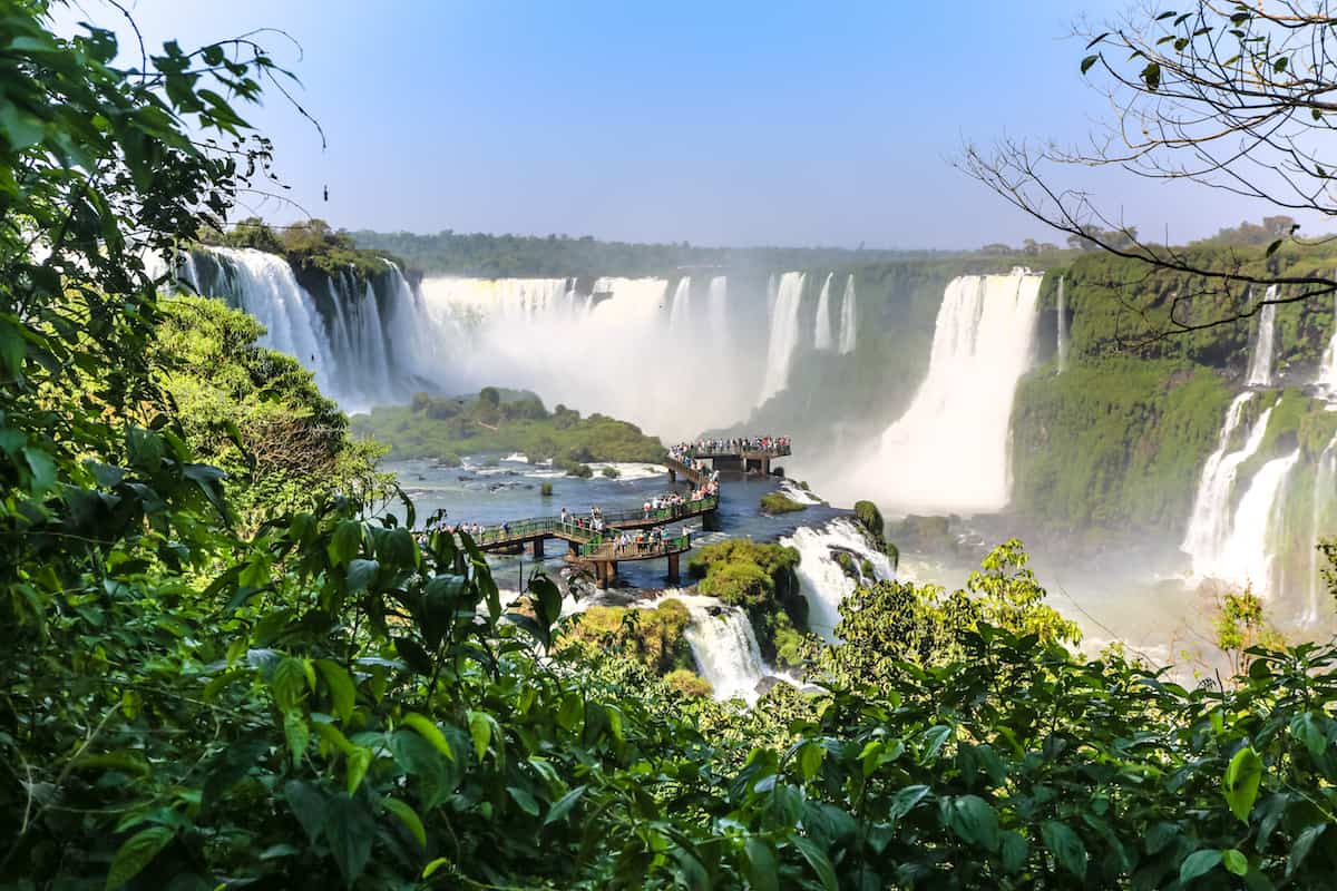 complete one day tour to Iguazu Falls
