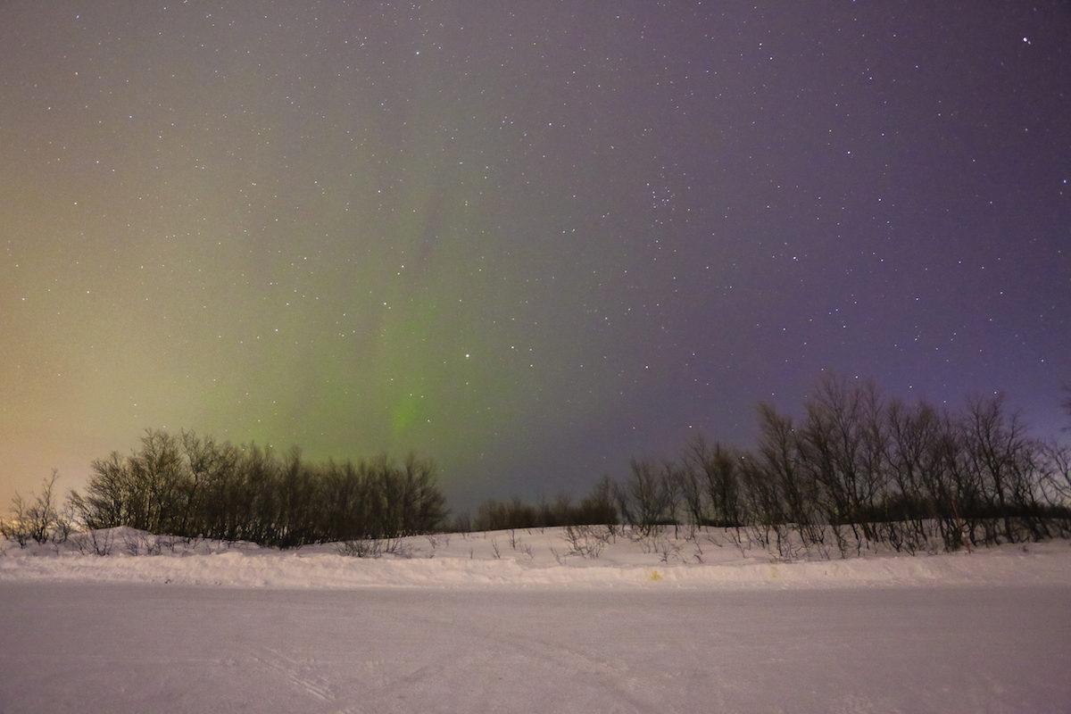 aurora borealis en kirkenes