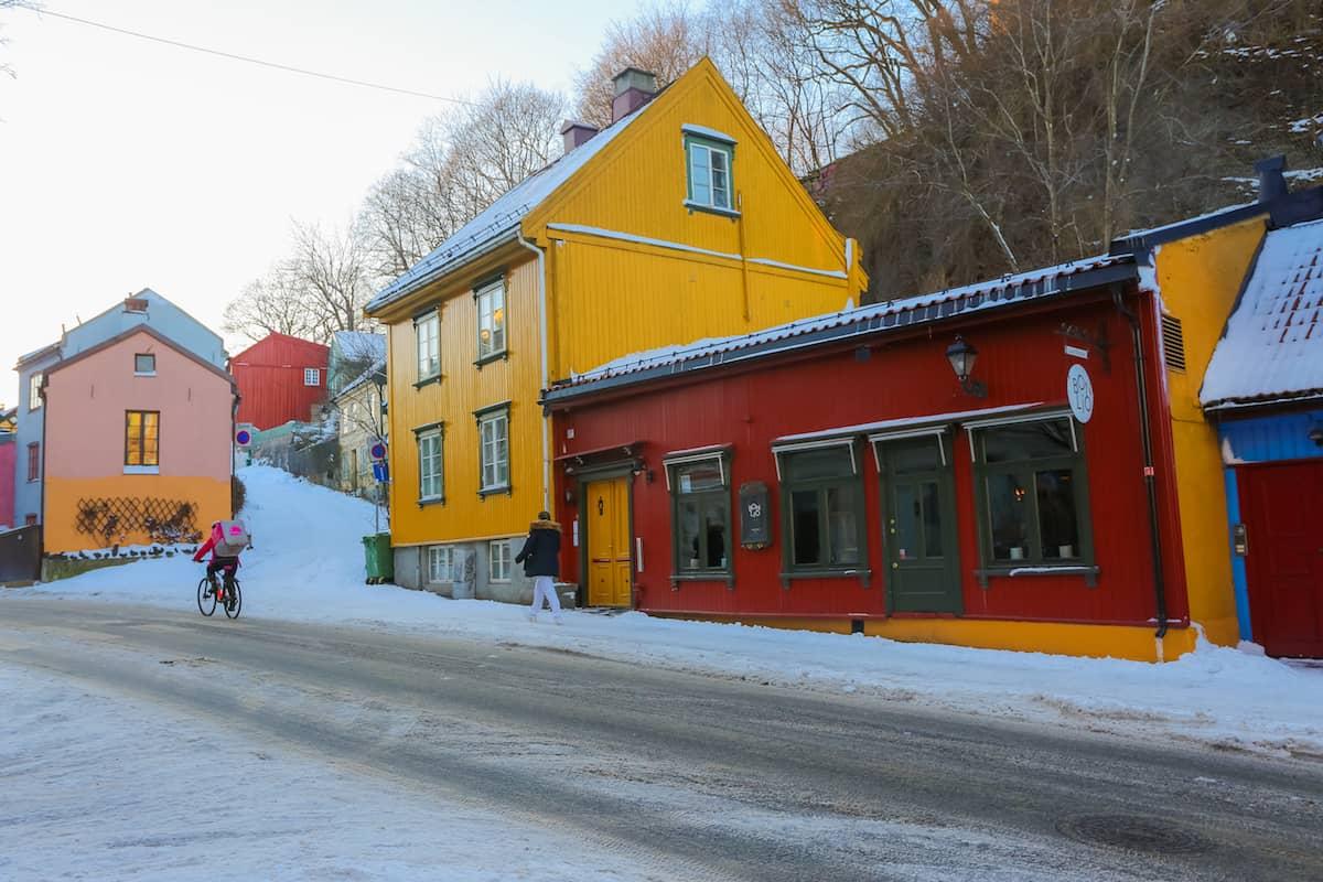 Oslo en invierno