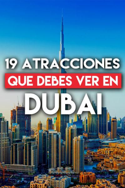 Las 19 mejores atracciones por ver en Dubai