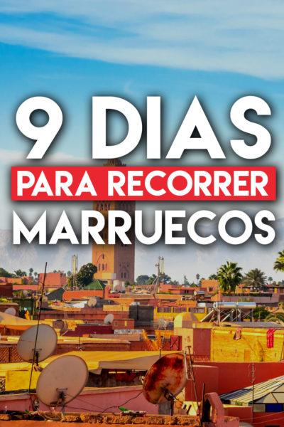 9 días para visitar Marruecos