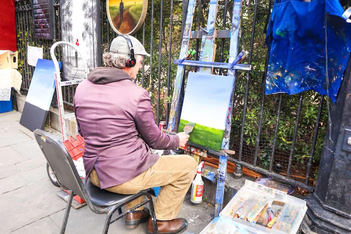 Pintor en new orleans