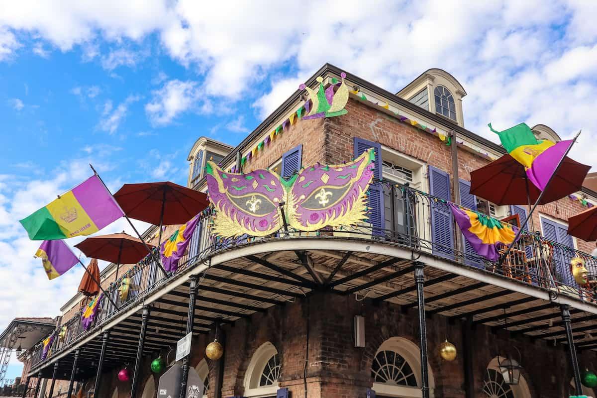 New Orleans decoracion bar - carnaval de new orleans