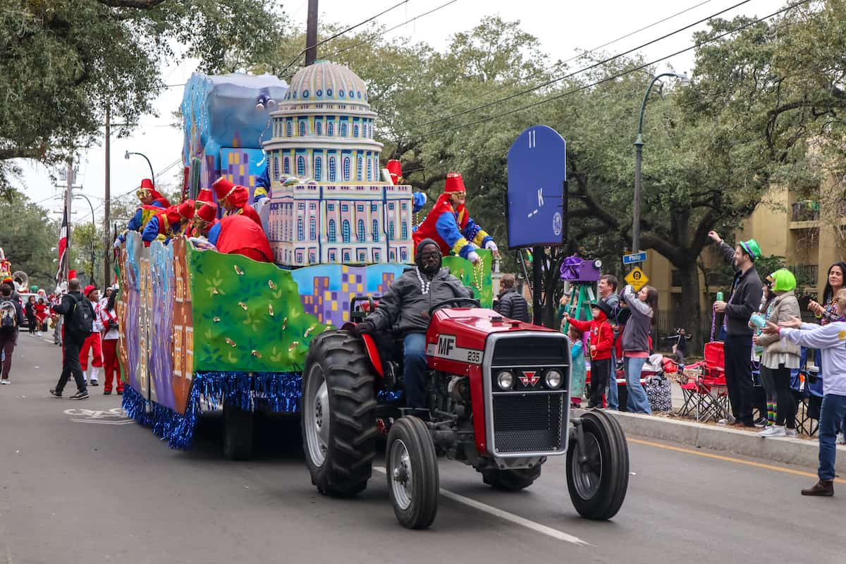 desfile mardi gras - carnaval de new orleans