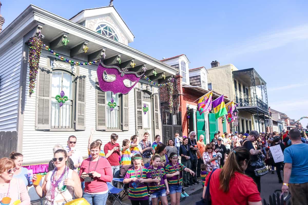 Mardi gras desfile
