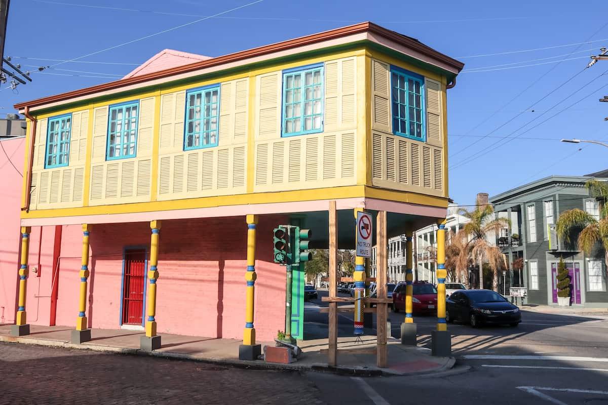 Casa Colorida en Nuevo Orleans