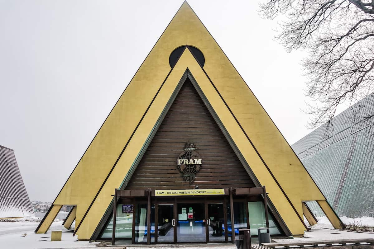 The Fram Museum Oslo entrance