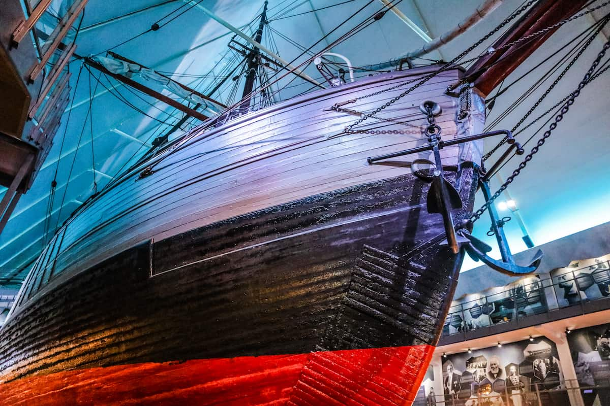 The Fram Museum Oslo ship