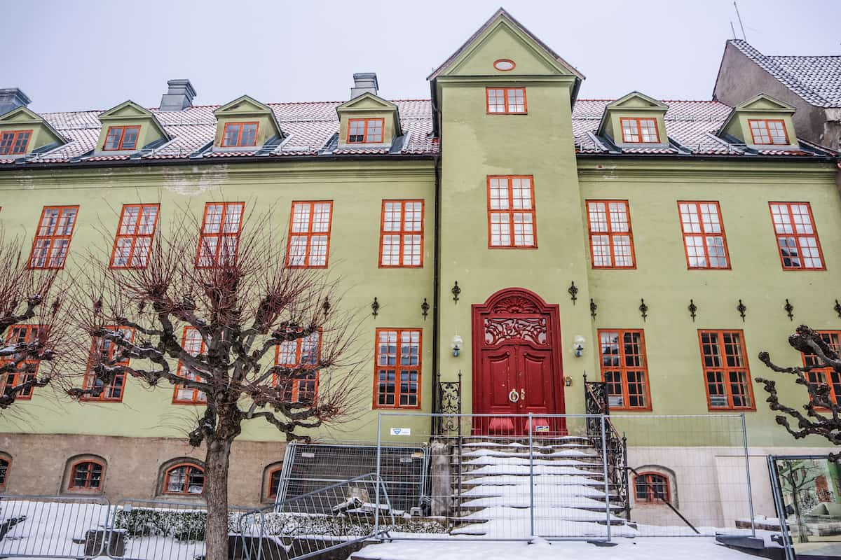 Norwegian Museum of Cultural History green house - Oslo en Invierno