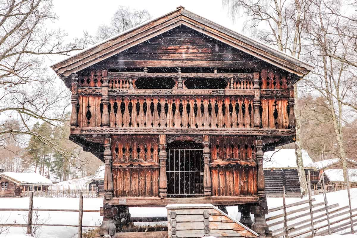 Norwegian Museum of Cultural History wood house