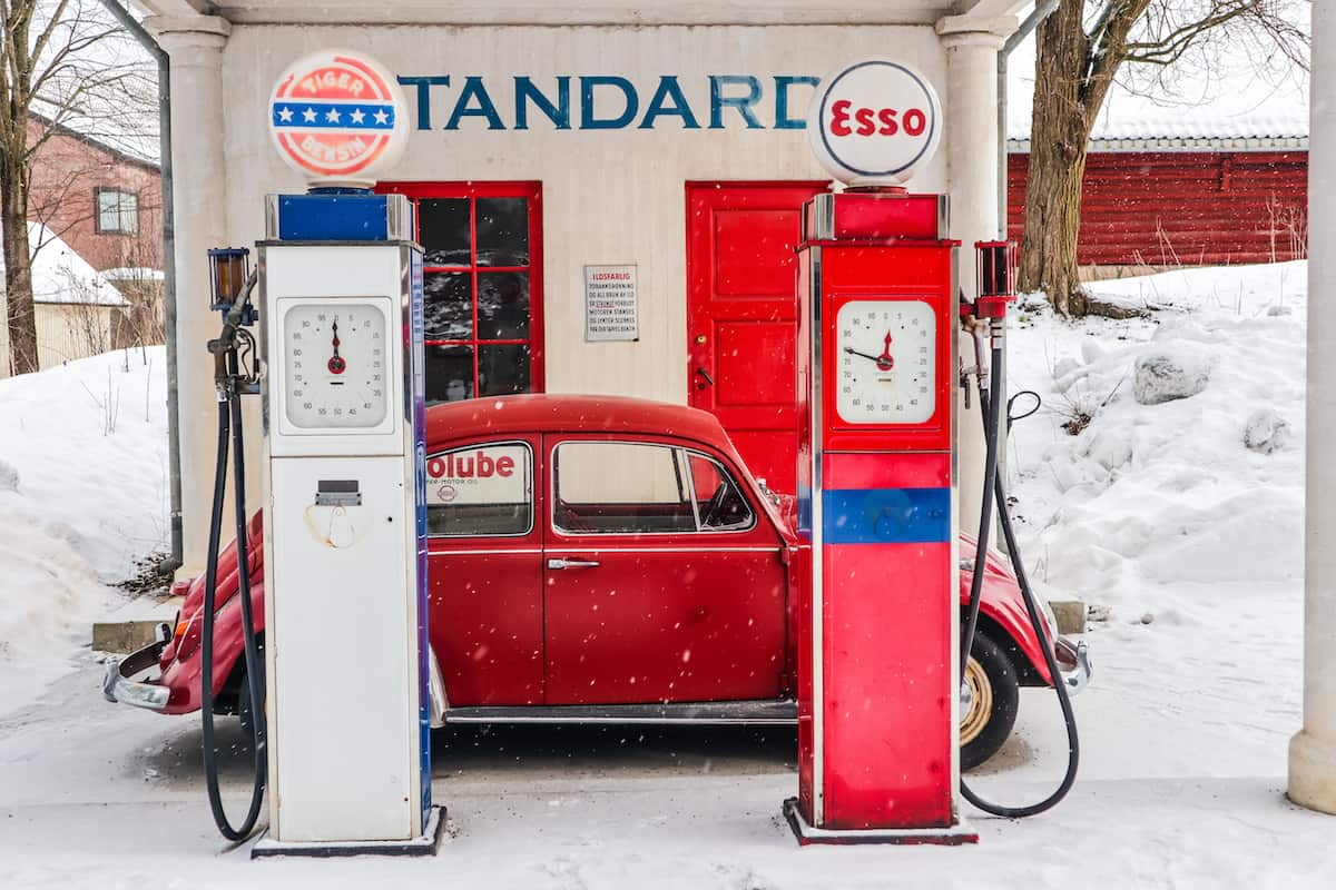 Norwegian Museum of Cultural History esso gas station